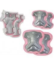 Комплект защиты 3 в 1 (розовый)