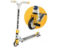 Micro Freestyle Scooter MX Trixx Grey-Yellow (SA0186) серо-желтый