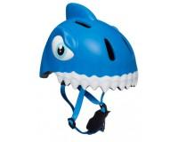 Шлем Blue Shark by Crazy Safety 2020 (синяя акула) детский