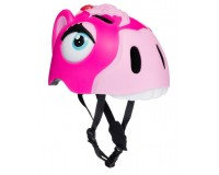 Шлем Pink Horse by Crazy Safety 2020 (розовая лошадь) детский