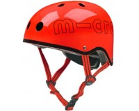 Шлем защитный Micro Красный глянцевый