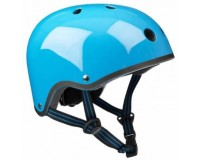 Шлем защитный Micro Голубой неон