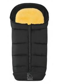Зимний Конверт Heitmann Felle Comfort 2-in-1 Комбинированный с подкладкой из овчины - Black черный 7975SZ