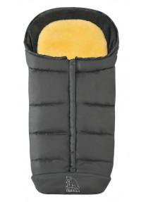 Зимний Конверт Heitmann Felle Comfort 2-in-1 Комбинированный с подкладкой из овчины - Grey серый 7975GR
