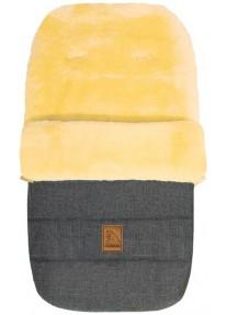 Зимний Меховой Конверт из овчины Heitmann Felle Lambskin Cosy Toes Grey-Melange (серый-меланж) 968GM