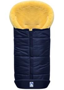 Зимний Конверт из овчины Heitmann Felle Premium Lambskin синий 975MA
