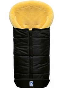 Зимний Конверт из овчины Heitmann Felle Premium Lambskin черный 975SZ