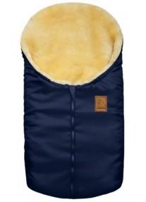 Зимний Конверт меховой из овчины Heitmann Felle Small синий 963MA