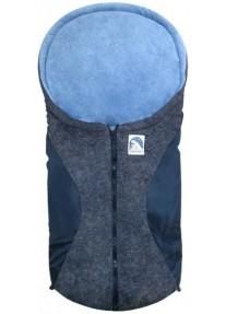Зимний Конверт Heitmann Felle Winter Small (флис)  Navy blue синий 7963 BM  79 × 39
