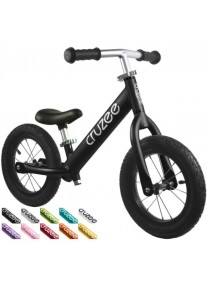 Cruzee UltraLite Air 12'' Беговел Balance Bike (Black)