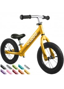 Cruzee UltraLite Air 12'' Беговел Balance Bike (Gold)
