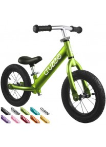 Cruzee UltraLite Air 12'' Беговел Balance Bike (Green)
