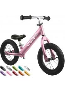 Cruzee UltraLite Air 12'' Беговел Balance Bike (Pink)