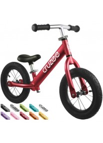 Cruzee UltraLite Air 12'' Беговел Balance Bike (Red)