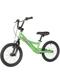 Беговел Strider 16 Sport Green (Страйдер 16 спорт зеленый) велобалансир бегунок от 6 лет