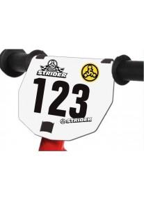 Номерной знак для Беговела Strider Sport / Honda / Classic / Cruzee