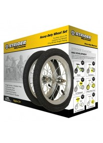 Комплект (2шт.)  пневматических колёс (12 х 1,75) для Беговела Strider ST-4 / Sport / Pro / Classic / Harley-Davidson / Honda