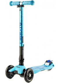 Самокат Micro Maxi Micro Deluxе  Bright Blue TF СКЛАДНОЙ (MMD027) голубой
