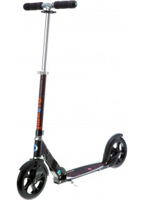 Самокат Micro Scooter Black (SA0034) колёса 200мм