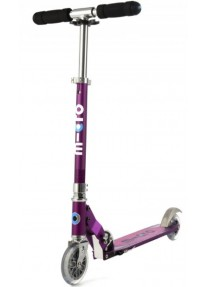 Самокат Micro Scooter Sprite Purple Stripe (SA0137) Сиреневые полоски