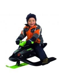Детский Снегокат Big Bobby Bob Wild Spider (чёрный)
