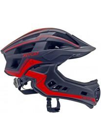 Шлем FullFace -Race  (Black/Red) -  JetCat