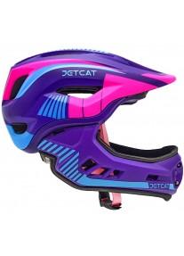 Шлем FullFace - Raptor (Pink/Purple/Blue) -  Jet-Cat