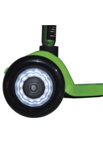 Накладки на колеса черные LED для Micro Mini и Maxi