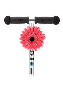 Цветочек Micro на руль розовый