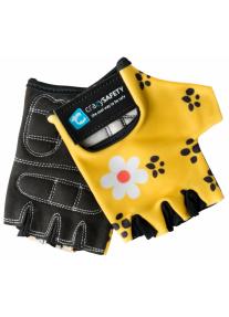 """Перчатки детские защитные (без пальцев) - Crazy Safety - Leopard (леопард) - """"S"""" - 7см"""