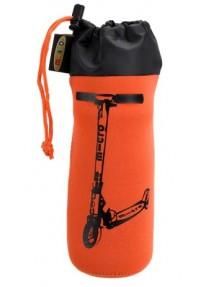 Сумка Micro для крепления бутылочки на самокат оранжевый (2 колеса)
