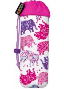 Сумка Micro для крепления бутылочки на самокат  слоники