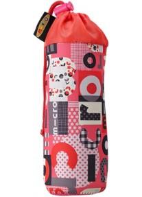 Сумка Micro для крепления бутылочки на самокат розовая Word
