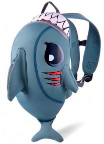 Рюкзак Crazy Safety Grey Shark (серая акула)
