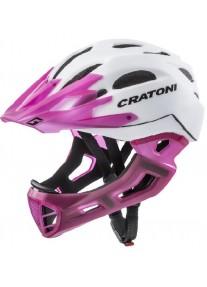 Шлем FullFace - Cratoni - C-Maniac White/LucentPink