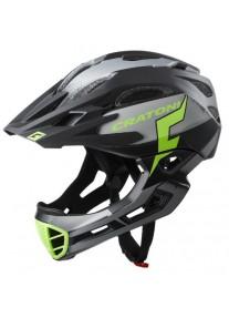 Шлем FullFace - Cratoni - C-Maniac Pro Black/lime