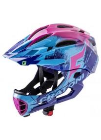 Шлем FullFace - Cratoni - C-Maniac Pro Purple/Blue/Pink