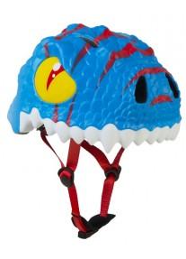 Шлем Blue Dragon by Crazy Safety New (синий дракон крэйзи сафэти) детский для мальчика новая коллекция