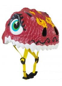 Шлем Chinese Dragon by Crazy Safety 2017 (китайский красный дракон крэйзи сафэти) детский для мальчика новая коллекция