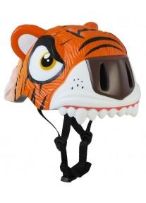 Шлем Orange Tiger by Crazy Safety 2017 (оранжевый тигр) детский для мальчика новая коллекция