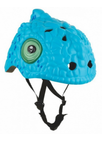 Шлем Blue Cameleon by Crazy Safety 2018 (синий хамелеон) детский