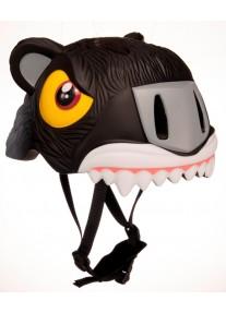 Шлем Black Tiger by Crazy Safety 2020 (черный тигр) детский