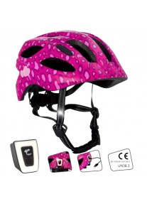 Шлем Crazy Safety Spots Pink M (розовый)