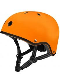 Шлем защитный Micro (оранжевый матовый)