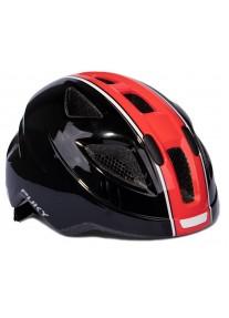 Шлем защитный Puky Black/Red черный/красный M (51-56) 9596