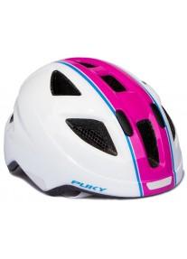 Шлем защитный Puky White Pink белый розовый 9595 M (51 до 56) PH-3