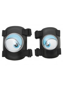 Комплект защиты 2 в 1 синяя (S) Crazy Safety защита локтей и колен