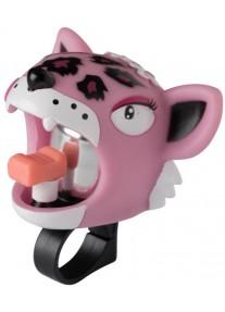 Звонок Pink Leopard by Crazy Safety (розовый леопард) на самокат - велосипед
