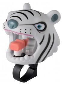 Звонок White Tiger by Crazy Safety (белый тигр) на самокат - велосипед