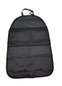 Защита спинки сиденья - черная с карманами - Royal Accessories
